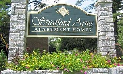 Stratford Arms Apartments, 1