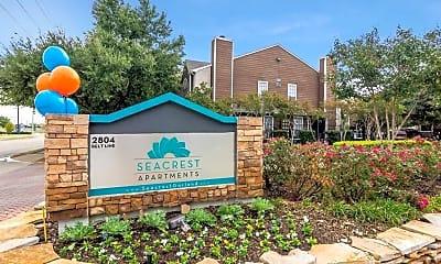 Community Signage, Seacrest, 1