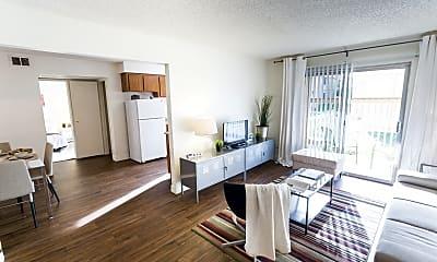 Living Room, Desert Palm Village, 1