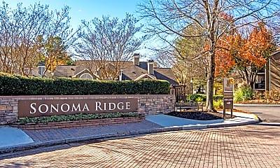 Community Signage, Sonoma Ridge, 2