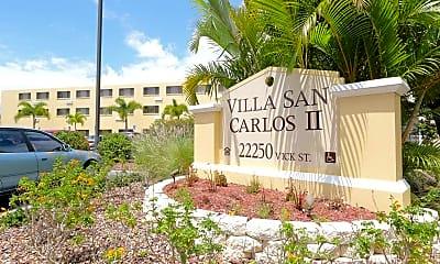 Community Signage, Villa San Carlos II, 1