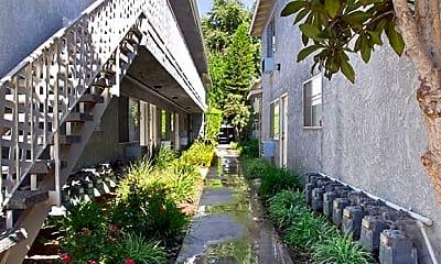 Building, Whitsett Courtyard, 1
