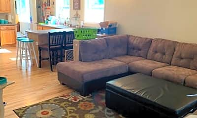 Living Room, 1218 Racine St, 1