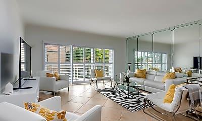 Living Room, 250 Bradley Pl 301, 0