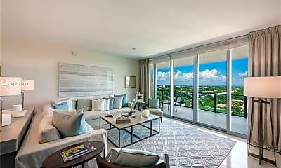 Living Room, 360 Ocean Dr 905S, 0