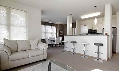 Living Room, Van Buren Place, 1