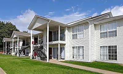 Building, Black Oak Apartments, 0