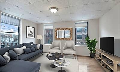 Living Room, 937 Christian St 2R, 1