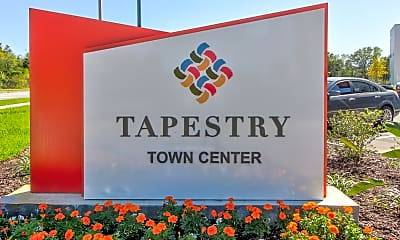 Community Signage, Tapestry Town Center, 2