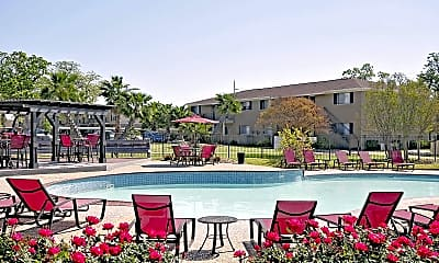 Pool, Briarwood Apartments, 0