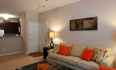 Living Room, The Reserve at Stone Hollow, 1
