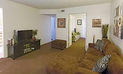Living Room, GRANADA APTS, 1