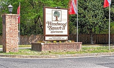 Community Signage, Wendwood Square, 2