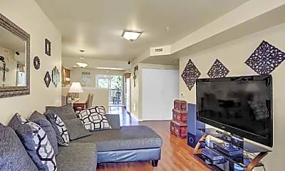 Living Room, Limerock Court Apartments, 0