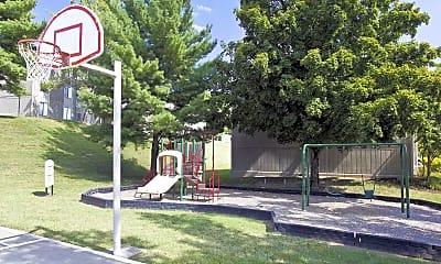 Basketball Court, Honeywood Apartment Homes, 2