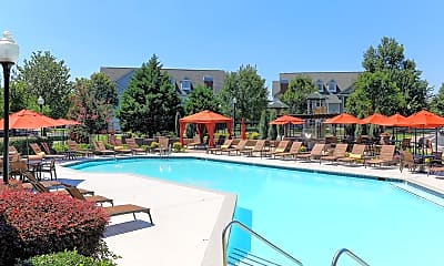 Pool, Cason Estates, 1