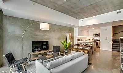 Living Room, 593 Mariposa St, 1