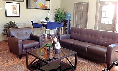 Living Room, 10901 Meadowglen Ln, 1
