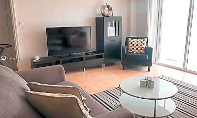 Living Room, 9195 Collins Ave 304, 0
