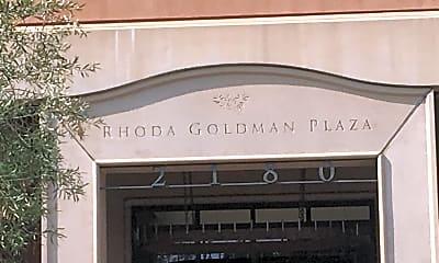 Rhoda Goldman Plaza, 1