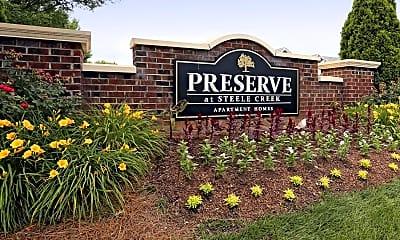 Community Signage, The Preserve at Steele Creek, 2