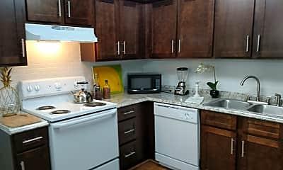 Kitchen, Westwood Apartments I II & III, 1