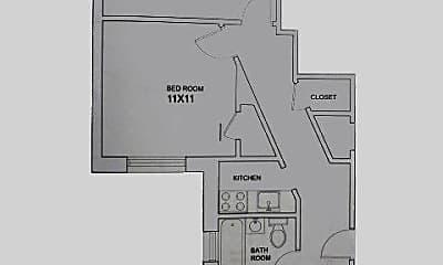 Bathroom, 327 Huntington Ave, 2
