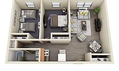Living Room, 1013 S Allen St, 1