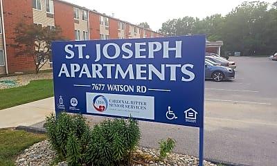 St Joseph Apartments, 1