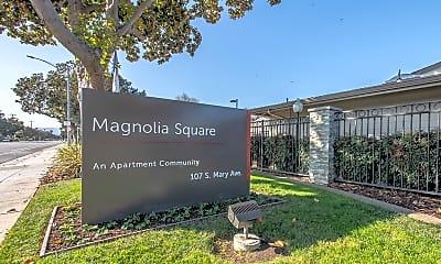 Community Signage, Magnolia Square, 1