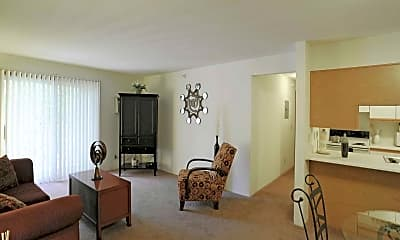 Living Room, Hornbrook Estates, 1