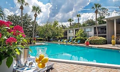 Pool, Lakewood Village, 1
