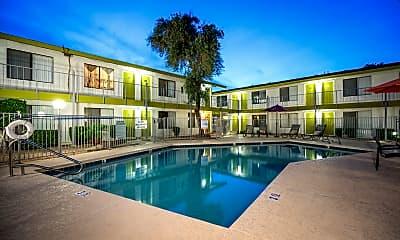 Pool, Dwell Apartment Homes, 0