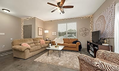 Living Room, 1026 Foster Ave, 1