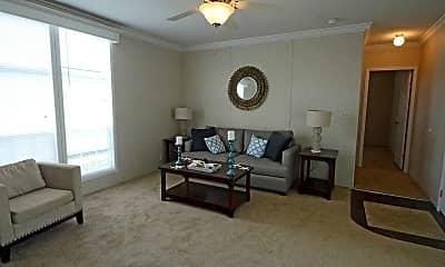 Living Room, Lake Sherman Village, 1