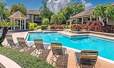 Pool, Apartments at Castle Hills, 1