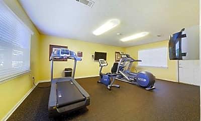 Fitness Weight Room, Woodland Oaks, 2