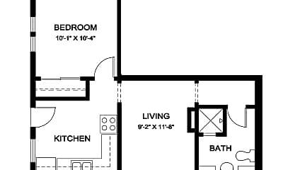 Bathroom, 1022 N Euclid Ave, 2