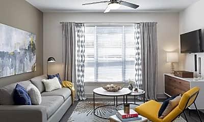 Living Room, Talia Apartments, 1