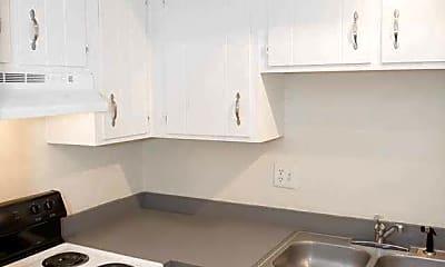 Kitchen, Garden Apartments, 1