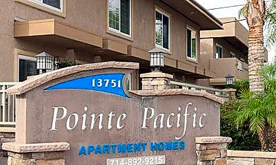 Community Signage, Pointe Pacific, 1