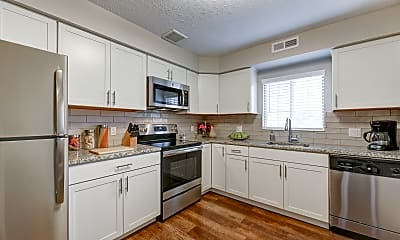 Kitchen, Shady Lake Apartments, 0