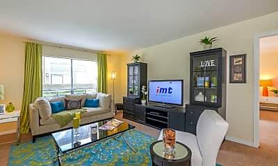 Living Room, 5401 Chimney Rock, 0