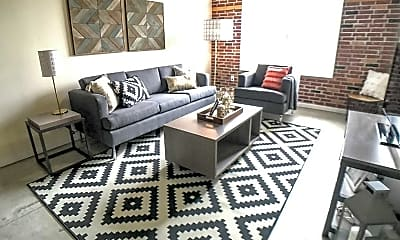 Living Room, Warehouse and Factory Apartments, 0