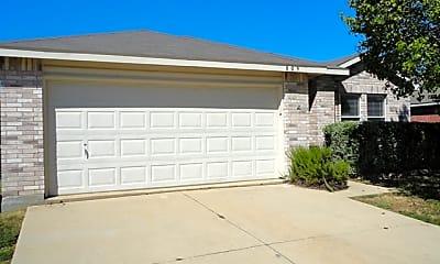 Building, 809 Encino Drive, 1