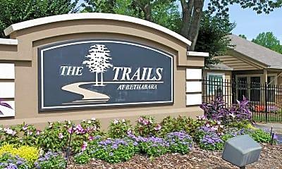 Community Signage, The Trails At Bethabara, 2