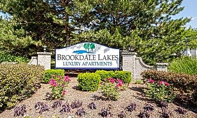 Community Signage, Brookdale Lakes, 2