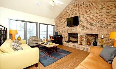 Living Room, 3001 Crystal Springs, 1