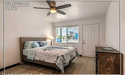 Bedroom, Millennium Flats, 0
