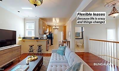 Living Room, 1453 Broderick St, 1